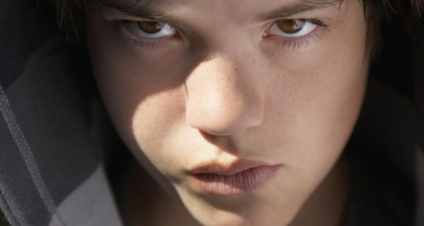 Increased levels of testosterone in boys can contribute to greater anger  and aggression. Photograph:
