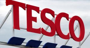 One-third of Irish respondents choose Tesco for their big weekly shop. Photograph: Rui Vieira/PA Wire