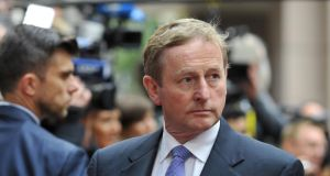 Taoiseach Enda Kenny is seen at the euro zone leaders summit over the weekend. Mr Kenny said on Tuesday the delay in reaching a deal had cost Greece dearly. Photograph: AFP