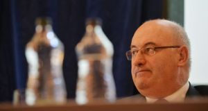 "Irish EU Commissioner Phil Hogan said the Greek prime minister had taken ""a gamble"" on the referendum in the hopes that it would enhance his negotiating position. Photograph: Alan Betson / The Irish Times"