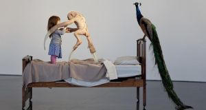 The Welcome Guest, from Patricia Piccinini's exhibition Relativity