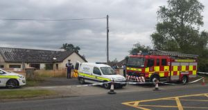 The body was found by a member of the public on Tuesday about 4pm. Photograph: Paddy Logue