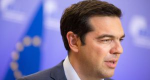 Greece PM Alexis Tsipras:  Grexit will be off the agenda. Photograph: Bloomberg