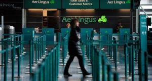 IAG has  promised the commission it will enter into agreements with IAG's long-haul rivals to maintain route link-ups with Aer Lingus's network. Photograph: Aidan Crawley/Bloomberg