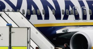 Conflicts with the Danish trade union movement has led Ryanair to move the company's recently opened base in Copenhagen to Lithuania. Photograph: Jeff J Mitchell/Getty Images
