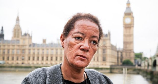 'I lived in a state of pure terror': Rosemary Adaser, co-founder of the group Mixed Race Irish. Photograph: Joanne O'Brien