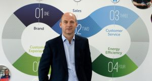 "Stephen Wheeler, managing director of SSE Airtricity. ""Our model can't just be about selling electricity, it's actually providing an essential service to our customers."" Photograph: Cyril Byrne"