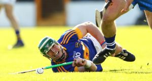 """As a team we've forgotten about 2014, all we're worried about is 2015,"" says June's Hurler of the Month, Tipperary's John O'Dwyer. Photograph: Cathal Noonan/Inpho."