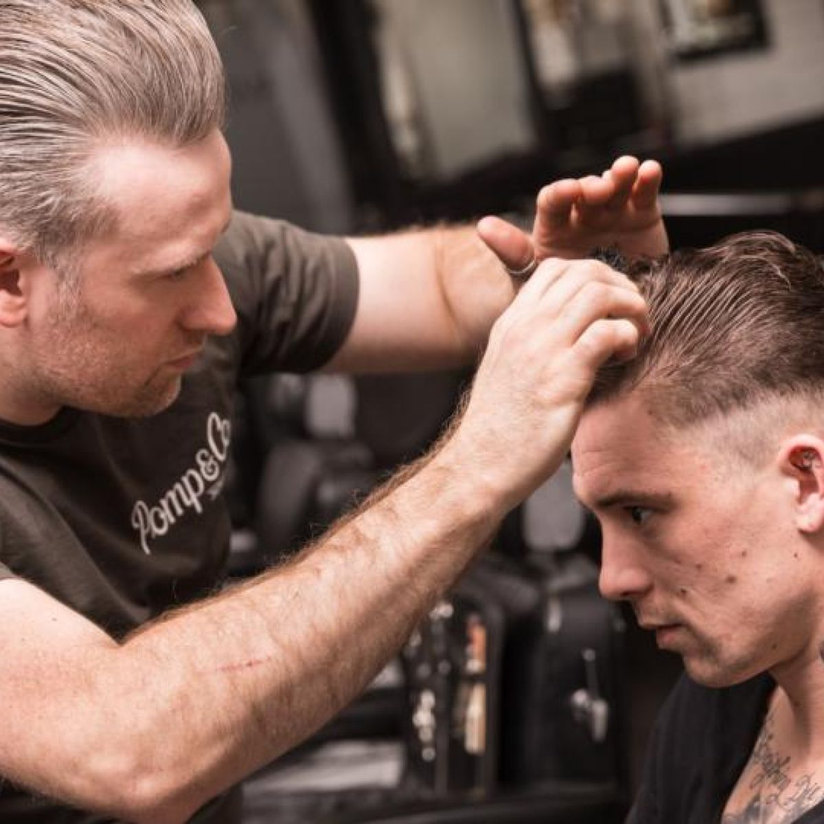 The Groom Boom Barbers Are Back In Fashion