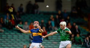 Tipperary's Colin O'Riordan in action against Limerick during  the Munster U-21 hurling semi-final in midweek. He will line out against Tyrone at Thurles. Photograph: Daire Brennan/Sportsfile