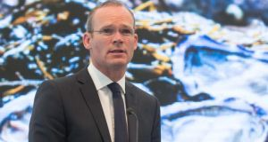 Minister for Agriculture Simon Coveney: Calls for an urgent increase in the EU intervention price for milk to avert a full-blown crisis in rural Ireland. Photograph: Darragh Kane.