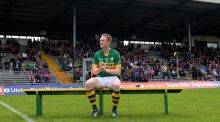 Colm Cooper has been named on the substitutes' bench again for the Munster final replay against Cork in Killarney. Photograph: Lorraine O'Sullivan/Inpho