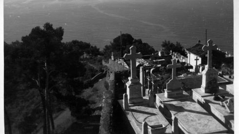 The cemetary in Roquebrune, France, where Yeats was buried after his death in 1939. Photograph: Irish Defence Forces