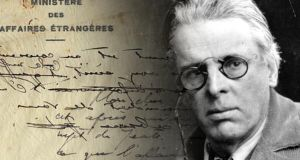 Diplomatic documents unearthed in France reveal bones sent by the French were not WB Yeats's bones