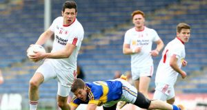 Sean Cavanagh helped Tyrone to a comfortable win over Tipperary in Thurles. Photograph: Inpho