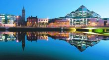 Dublin, while much smaller than leading European cities, is still large enough to attract major export enterprises and to draw Irish emigrants home, as well as skilled workers with no Irish associations