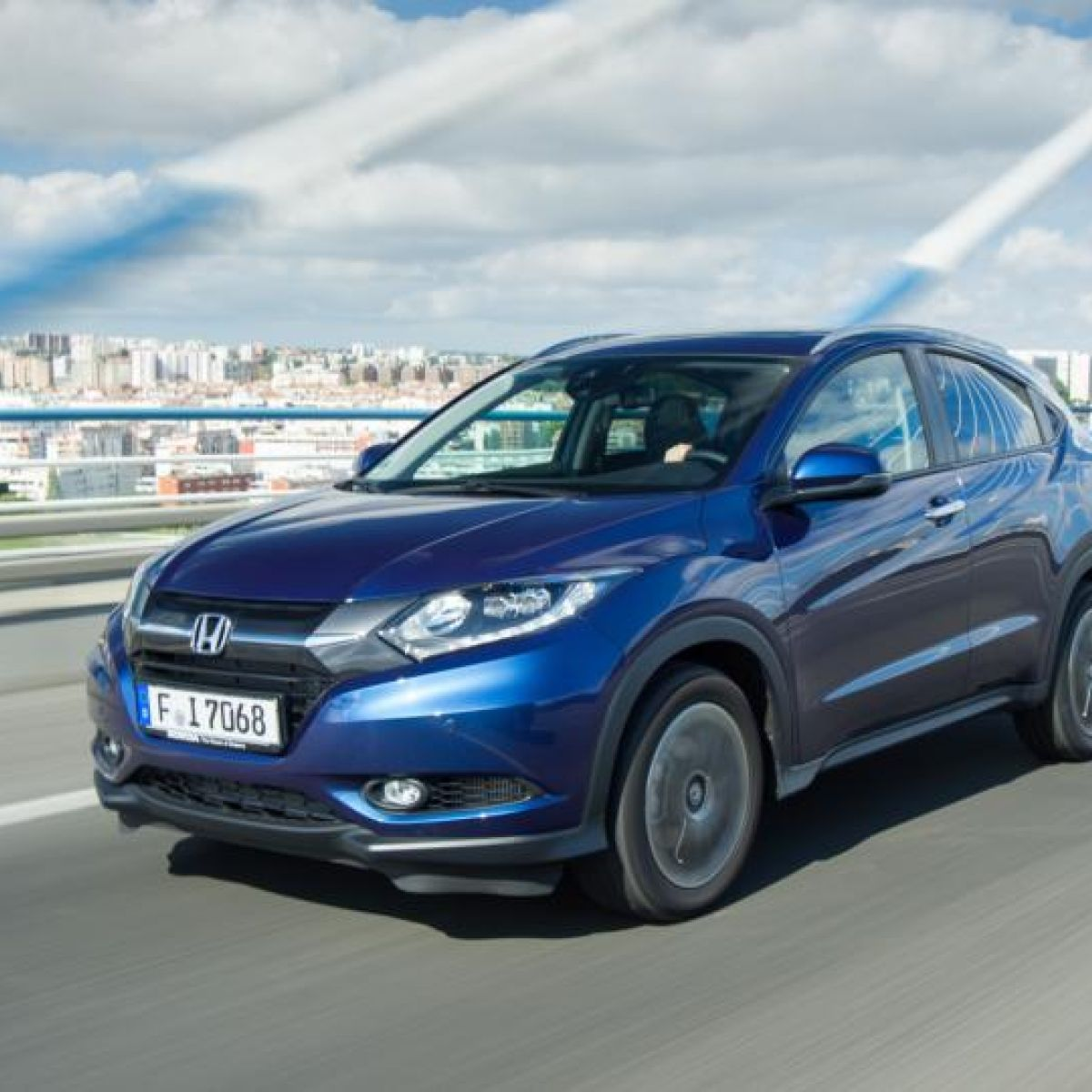 Honda Hr V Is Crossing Over In Considerable Style