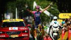 Ruben Plaza won stage 16 of the Tour de France to Gap. Photograph: Getty