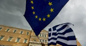 A euro exit will be essential to write down much of Greece's debt. Photograph: Reuters