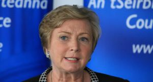 "Minister for Justice Frances Fitzgerald:  ""We have reached a point where Italy and Greece, who are really on the front line, are under unsustainable pressure."" Photograph: Collins"