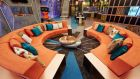The 1960s-inspired living area of this year's  'Big Brother' house. The reality series was broadcast on TV3 for the first time this summer. Photograph: PA