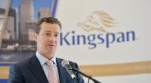 Kingspan chief executive Gene Murtagh: The company came under some pressure, and was one of the big fallers onISEQ index. Photograph: Irish Times