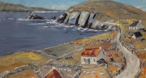 The Wild Atlantic Way, Sleagh Head, Co Kerry by  Ivan Sutton €1,220 (€1,200-€1,600)
