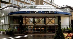 Jurys Hotel in Ballsbridge pictured in 2005. Photograph: David Sleator/The Irish Times.