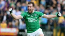 Fermanagh's Sean Quigley has scored 2-26 so far this summer, 75 per cent of such coming from placed ball. Photograph: Andrew Paton/Inpho.