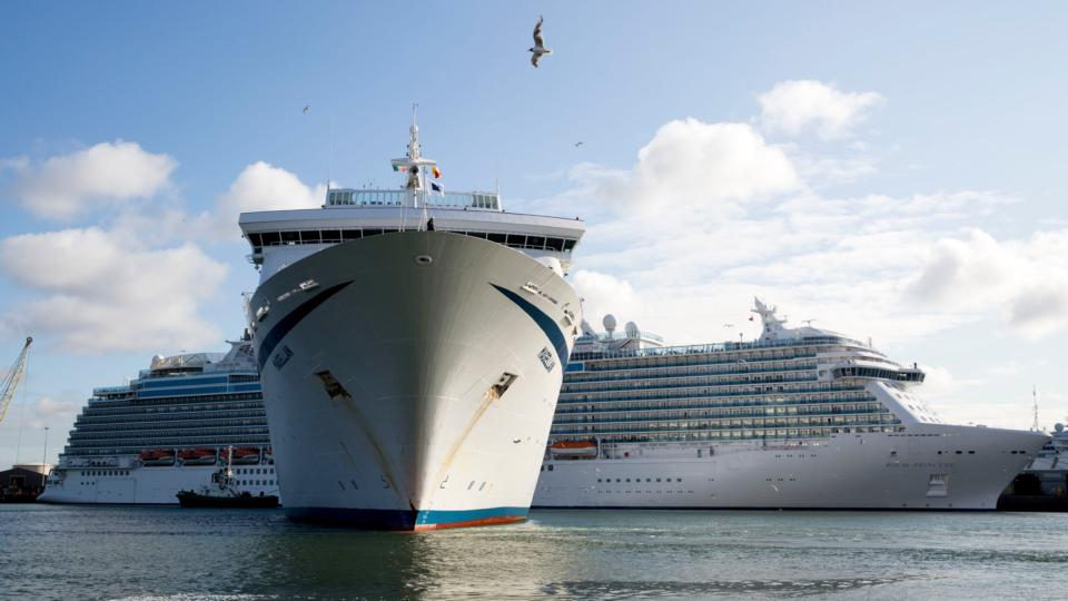 Four cruise liners deliver 13,000 tourists to Dublin Port