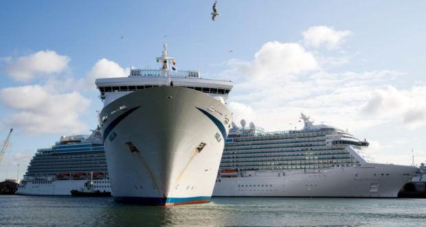 four luxury cruise liners arrived in dublin early on wednesday bringing some 13000 tourists to the - Cruise Ship Photographer