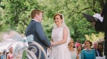 Our Wedding Story: 'I always imagined I'd design my own dress'