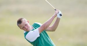 Paul McBride is four under par after the second round of the South of Ireland Amateur Open in Lahinch. Photograph: Getty