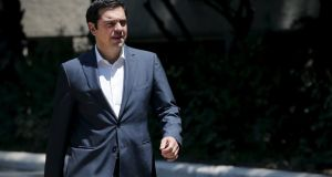 Greek  prime minister Alexis Tsipras accepted the creditors' terms even though Greek voters had rejected an earlier offer in a referendum