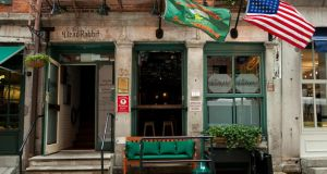 The Dead Rabbit in Downtown Manhattan which has been named as the 'world's best bar'.
