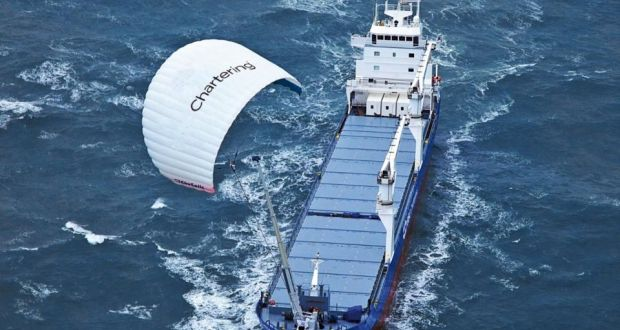 How a bit of breeze and a big kite can save on seagoing energy costs