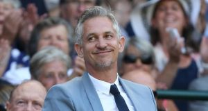 Former England footballer Gary Lineker volunteered his services to cover BBC golf coverage after Steve Rider left the broadcasters. Photograph: Getty.