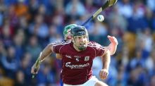 Galway's David Collins. His influence on his team's defence extends far beyond his position. Photograph: INPHO/Cathal Noonan