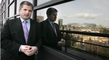 Dermot O'Leary, chief economist at Goodbody stockbrokers. Photographer: Dara Mac Dónaill