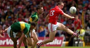 Cork's Colm O'Neill had a disappointing game in the replayed Munster final against Kerry last Saturday. Photograph: Ryan Byrne/Inpho.