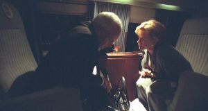 US vice president Cheney with his wife Lynne Cheney aboard Marine Two. Photograph: US National Archives