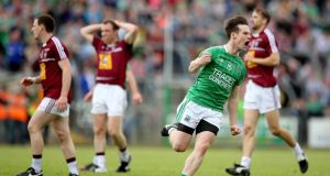 Tomas Corrigan inspired Fermanagh to victory over Westmeath at Breffni Park. Photograph: Inpho