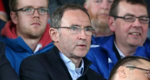 Republic of Ireland manager Martin O'Neill. Photograph: Brian Lawless/PA Wire