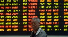 China stocks plunged more than 8 per cent, their biggest one-day drop in more than eight years. Photo: Reuters