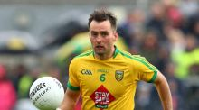 Karl Lacey has been ruled out of Donegal's All ireland qualifier against Galway. Photograph: Inpho