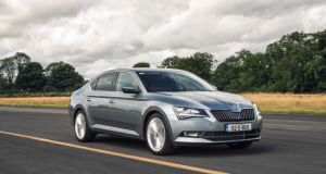 New Skoda Superb: now on sale in Ireland with prices starting at €26,795 for the entry-level 1.4-litre petrol version
