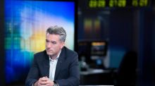Neil Sorahan, chief financial officer of Ryanair Holdings, during a Bloomberg Television interview in London, yesterday. Photograph: Jason Alden/Bloomberg