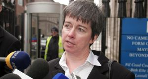 Louise  O'Keeffe and other abuse survivors have strongly criticised the scope of the compensation scheme, accusing the state of failing to accept its legal responsibility. Photograph: Garrett White/Collins