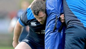 Cian Healy underwent disc surgery towards the end of last season. Photograph: Donall Farmer/Inpho