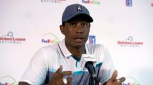 "Tiger Woods has again insisted his game is nearly there after a ""perfect storm"" of a swinge change and back surgery. Photograph: EPA"